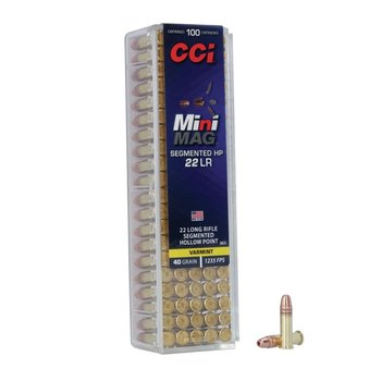 CCI 22 LR MINI MAG SEGMENTED HP
