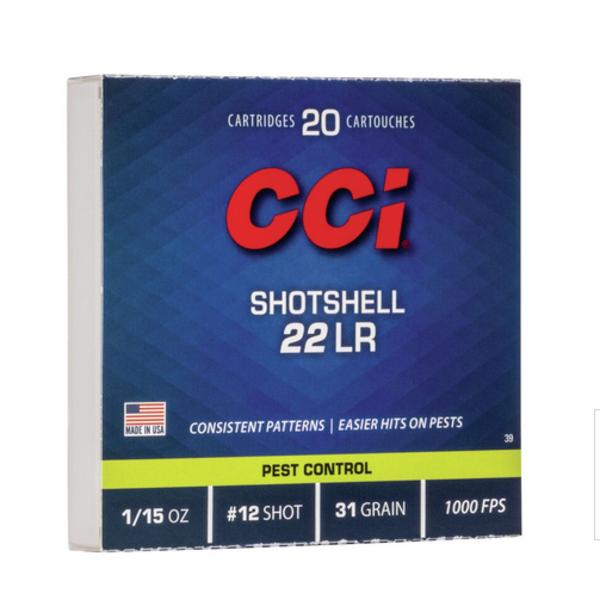 CCI 22 LR SHOTSHELL 31GR