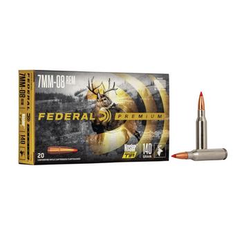 FEDERAL 7mm-08 REM 140gr NOSLER BALLISTIC TIP 20ct