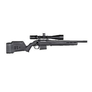 MAGPUL RUGER HUNTER AMERICAN STOCK  SHORT ACTION BLACK