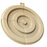 BIRCHWOOD CASEY 3D BULLSEYE TARGET LG 3PK