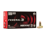 FEDERAL AMERICAN EAGLE 9MM LUGER 124GR FMJ