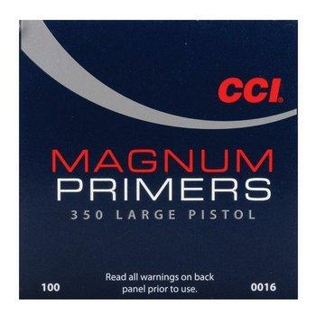 CCI LARGE MAGNUM PISTOL PRIMER 350