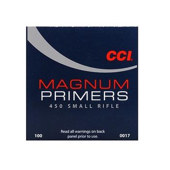 CCI MAGNUM SMALL RIFLE PRIMERS 450