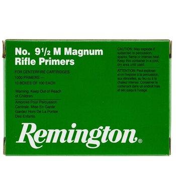 REMINGTON NO 9 1/2 M MAGNUM RIFLE PRIMER