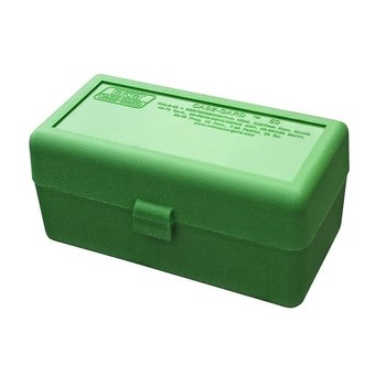 MTM 50RD AMMO CASE LARGE RIFLE GREEN