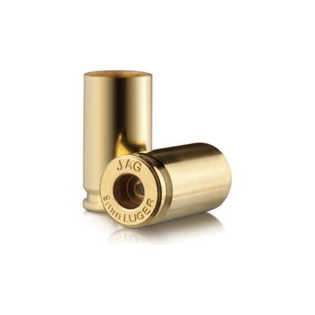 JAGEMANN 9MM LUGER +P UNPRIMED BRASS 100CT