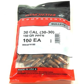WINCHESTER 30CAL 150GR PPFN 100CT