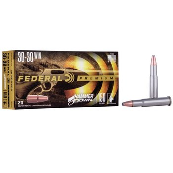 FEDERAL 30-30 WIN 150GR HAMMER DOWN 20CT