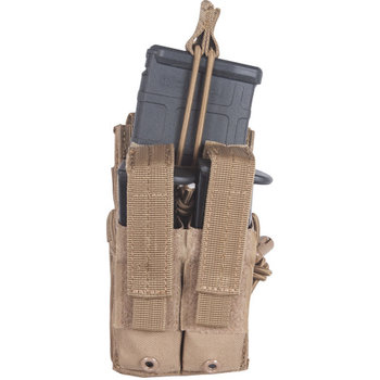 FOX OUTDOOR TACTICAL VERTICAL QUICK STACKS - COYOTE