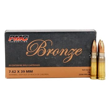PMC 7.62X39MM 123GR FMJ 20CT