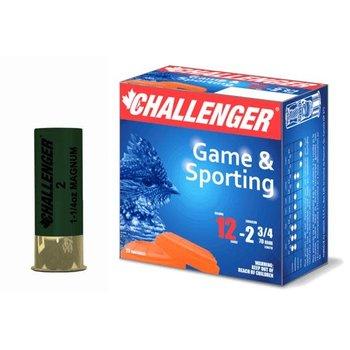 "CHALLENGER MAGNUM 12GA 2-3/4"" 1-1/4OZ 2 SHOT"