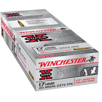 WINCHESTER 17 HMR 20GR JHP 50CT