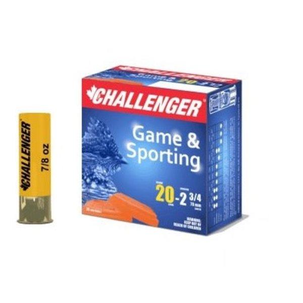 CHALLENGER 20 GA 2 3/4' #4  7/8 OZ