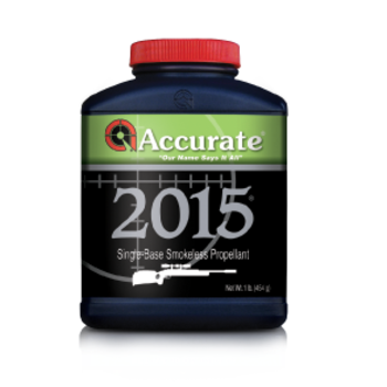 ACCURATE POWDER 2015 SINGLE-BASE 1LB POWDER