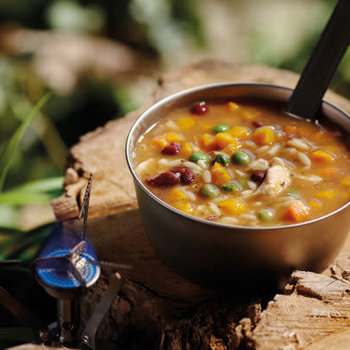 HAPPY YAK CHICKEN & ORZO SOUP (LACTOSE FREE)