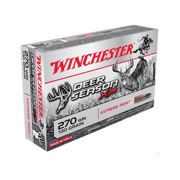 WINCHESTER 270 WIN 130GR DEER SEASON XP 20CT