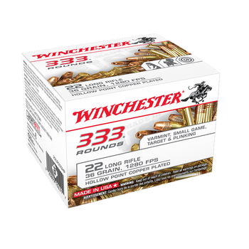WINCHESTER 22LR 36GR HP 333CT