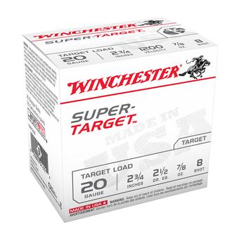 """WINCHESTER 20GA 2-3/4"""" 7/8OZ 8 SHOT"""