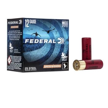 "FEDERAL 12GA 3"" 1-1/4 OZ 3 SHOT SS SPEED SHOK 25ct"