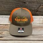 RICHARDSON LOW PRO TRUCKER CAP ORANGE M/L
