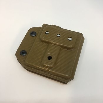 HAMMER ARMAMENT POUCH-AR15 ODIN RIFLE MAG HOLDER COMBAT LOOP (CARBON FIBER COYOTE)