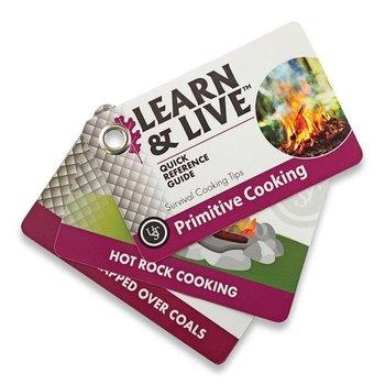 UST PRIMITIVE COOKING CARDS