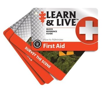 UST FIRST AID CARDS