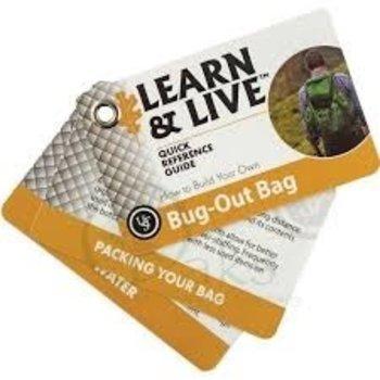 UST BUG-OUT BAG CARDS