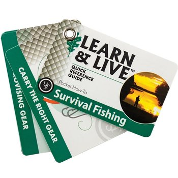UST SURVIVAL FISHING CARDS