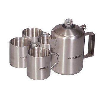 CAMP CHEF JAVA 5 COFFEE POT SET