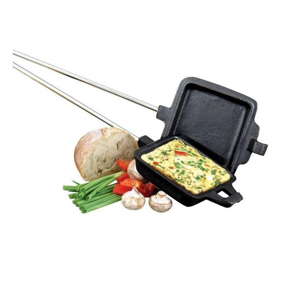 CAMP CHEF SINGLE SQUARE CAST IRON COOKING IRON