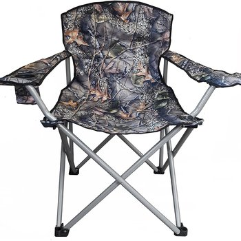 WORLD FAMOUS SPORTS BIG BOY CAMO CAMP CHAIR WITH ARMS