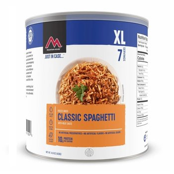 MOUNTAIN HOUSE SPAGHETTI WITH MEAT SAUCE 538G