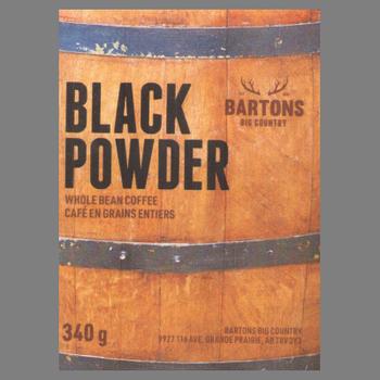 OLE SMOKES BARTONS BLACK POWDER ROAST 12OZ