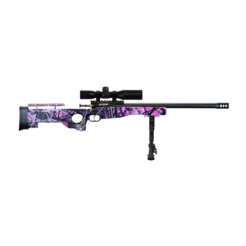 CRICKETT PRECISION RIFLE MUDDY GIRL BLUED 22 LR PKG