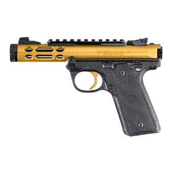 """RUGER MARK IV 22/45 LITE GOLD ANODIZED 4.4"""""""