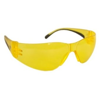 WALKERS WRAP AROUND YOUTH SHOOTING GLASSES Yellow