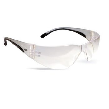 WALKERS WRAP AROUND YOUTH SHOOTING GLASSES CLEAR