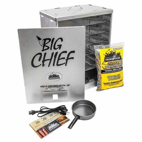 SMOKEHOUSE BIG CHIEF FRONT LOADER SMOKER