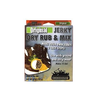 SMOKEHOUSE ORIGINAL JERKY AND DRY RUB MIX