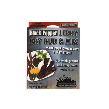 SMOKEHOUSE BLACK PEPPER JERKY AND DRY RUB MIX