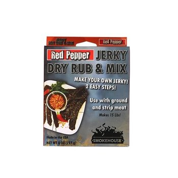 SMOKEHOUSE RED PEPPER JERKY AND DRY RUB MIX