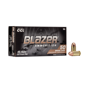BLAZER 45 ACP 230GR FMJ 50ct