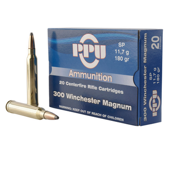 PPU 300 WIN MAG 180GR 20ct
