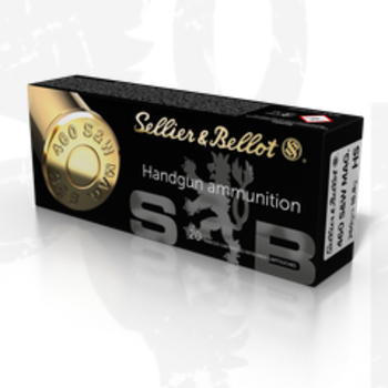 SELLIER & BELLOT 460 S&W MAG 255GR JHP 20ct