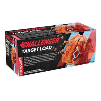 "CHALLENGER 12GA 2-3/4"" 70MM TARGET LOAD #8 4pk 100ct"