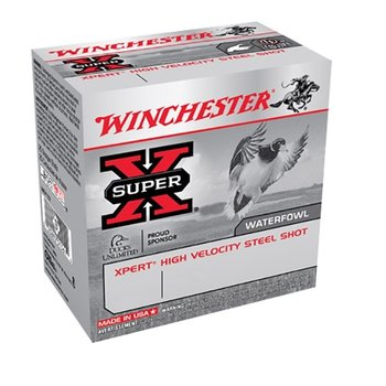 """WINCHESTER 12GA 3"""" 1-1/8OZ BB SUPER-X 25ct"""