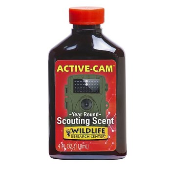 WILDLIFE RESEARCH ACTIVE-CAM YEAR ROUND SCOUTING SCENT 4OZ