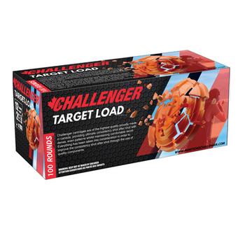 "CHALLENGER 12GA 2-3/4"" 70MM TARGET LOAD #7.5 4pk 100ct"